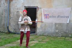 Skupina historického šermu INVICTUM, zámek Čečovice