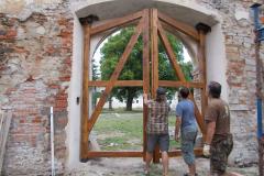 Osazená konstrukce, zavřeno