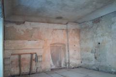 Hotový strop v horním patře