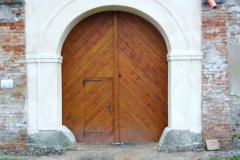 Nová vrata, zavřená