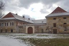 Zima na zámku Čečovice