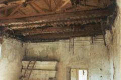 1. místnost východního křídla po vyklizení