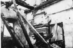 2. místnost jižního křídla po vyhoření
