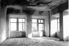 1. místnost východního křídla po vyhoření 1990