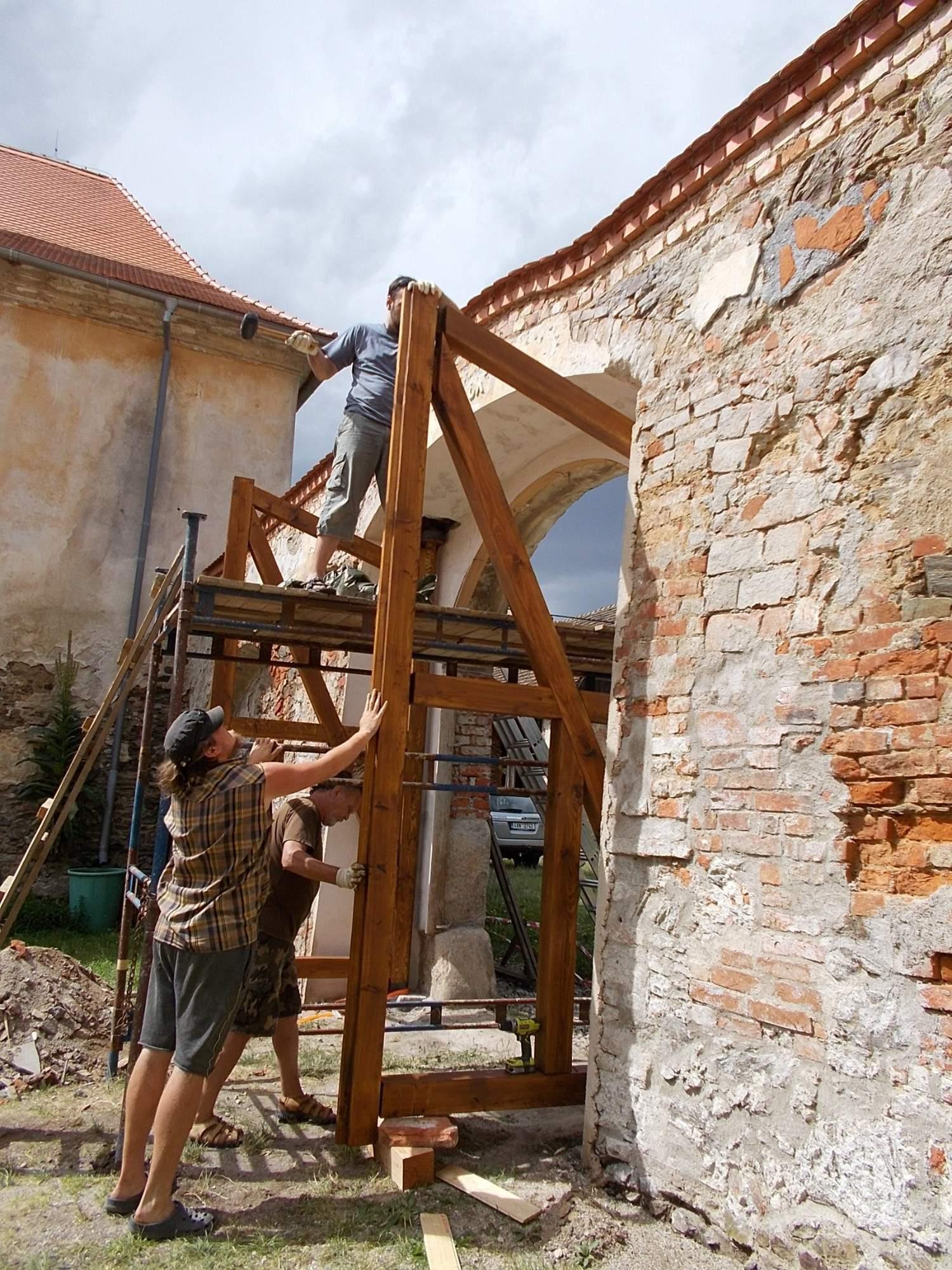 Nová vrata, zámek Čečovice