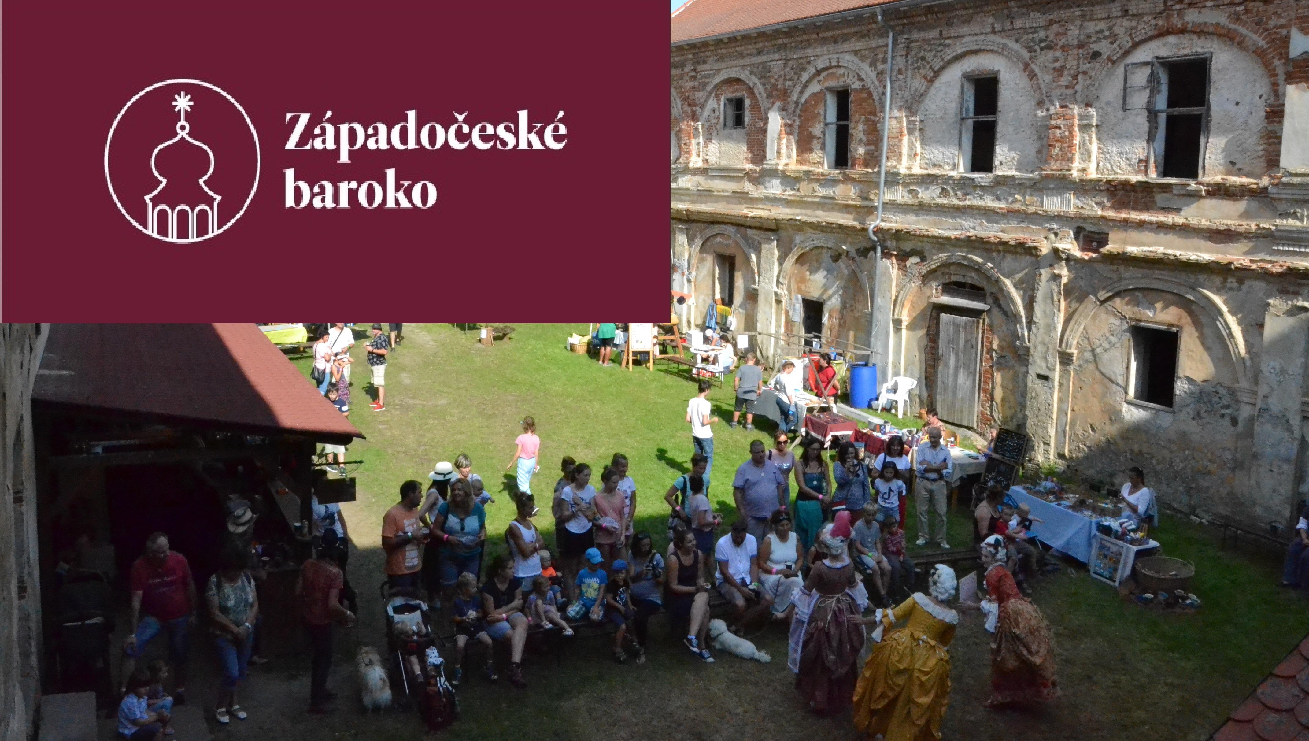 Barokní veselice na zámku Čečovice 2021